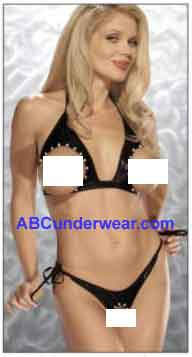 Cutout Tie Side G-String Set