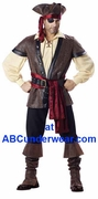 Deluxe Rustic Pirate Costume