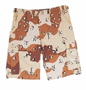 Desert Camouflage Military Shorts