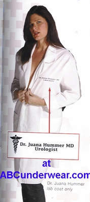 Dr. Juanna Hummer Lab Coat