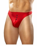 E-Z Access Button Thong PAK-823