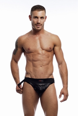 Go Softwear Pleather Snap Jock Clearance