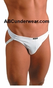 Gregg Cotton/Spandex Jockstrap Clearance - White-One-Size