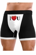 I Heart U - Mens Boxer Brief Underwear