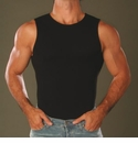 Jocko David's ribbed muscle shirt