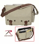 Khaki Vintange Trailblazer Laptop Bag