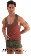 Layer Net Tank Top - Closeout