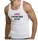 Love Conquers Hate - Tank Top