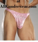 Men's Hologram Thong - Clearance