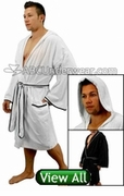 Men's Robes and Spa Wraps