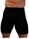 Mens Stretch Thermal Cotton Boxer Brief