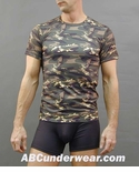 Microfiber Camouflage T-Shirt