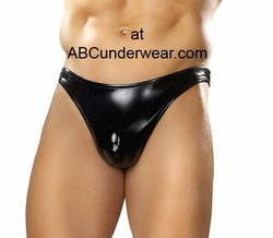 Moonshine Backless Underwear - Rubber Look
