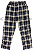 Mountain Cabin Plaid Fleece Pajama Pants - Evening Stars