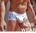 NDS Silver Circle Mini Boxer