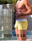 NDS WEAR Chalk Lined Pouch Boxer Clearance