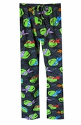 Ninja Turtle Head Shell Print Pant