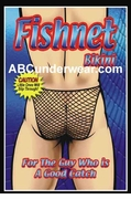 Novelty Men's Fishnet Bikini