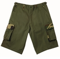 Olive Rigid Fatigue Shorts