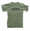 Olive Vintage Army T-Shirt