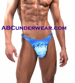 Palm Trees Men's Thong