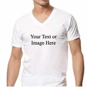Personalized V-Neck T-shirt