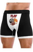 Play With My Balls - Mens Boxer Brief Underwear