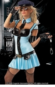 Police Girl Costume - Clearance