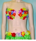 Rainbow Flower Bra