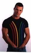 Rainbow T-Shirt - White Clearance