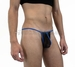 Rave Black Mesh Contrast Men's G-String