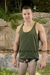 Roma Y-Back Tank Top - Muscle Tank for men