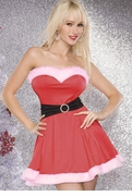 Santa Sweetheart bleed Dress