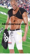 Sexy Football Player Costume - Color Bleed
