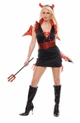 Sexy Lady Lucifer Costume