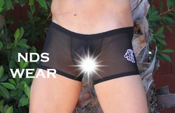 Sexy Sheer Leo Short Men's Underwear