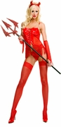 Sexy Women's Halloween Costume - Devil - Closeout
