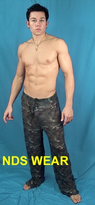 Sheer Camo Lounge Pants