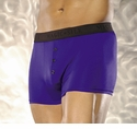 Silk Boxer Brief with button fly