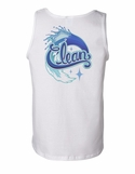 Clean Men's Sexy Graphic Back-Print Tank Top