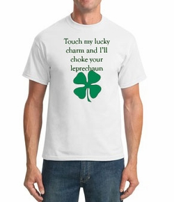 Touch My Charm - St. Patrick's Day T-Shirt