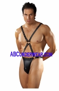 Warrior Studded Thong Harness