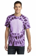 Window Tie Dye T-shirt Purple