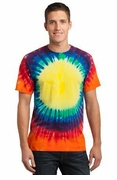 Window Tie Dye T-shirt Rainbow