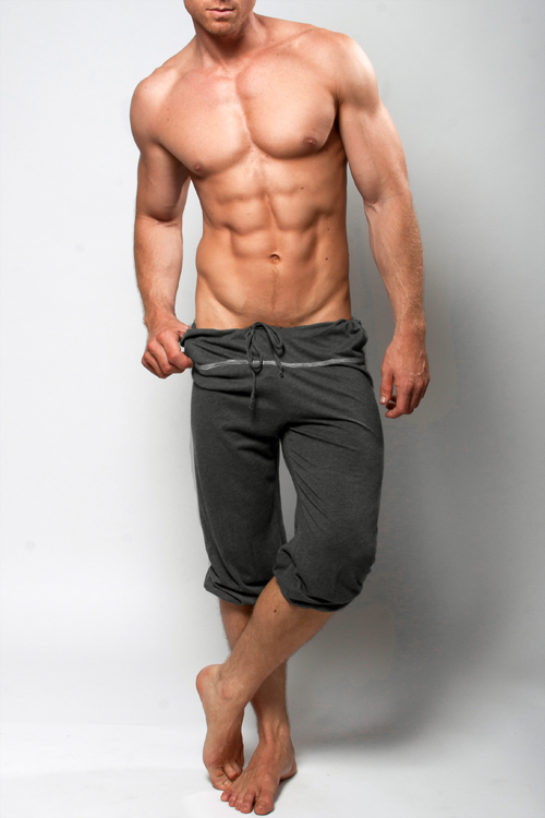 Capri Shorts Pilates Yoga Or Lounge Pants For Men