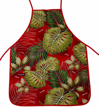Hawaii Aprons, Red leafs