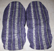 Hawaii car seat cover<br>37 Purple tapa(Quilted)