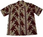 Hawaiian Party Shirt <br>#4 Red Turtle, M-XL