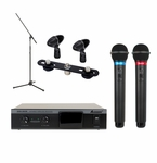 Acesonic IWM-360B Dual Infrared Wireless Microphone System