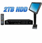 Acesonic KOD-2800 Cloud Edition Karaoke Music Jukebox with 2TB HDD & Touch Screen - Chinese Edition